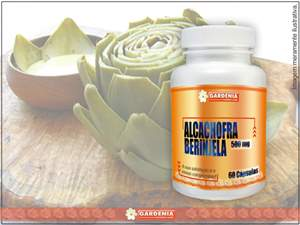 Alcachofra + Beringela 500 Mg
