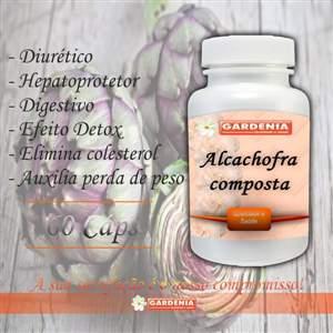 Alcachofra Composta 450mg